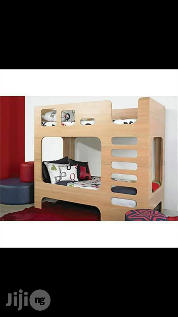 Archive: Wooden Buck Bed For Children