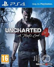 Uncharted 4: A Thief'S End - PS4 | Video Games for sale in Lagos State, Surulere