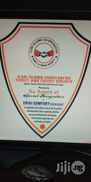 Print Ur Award Plaque Or Crystal | Arts & Crafts for sale in Lagos State, Ikeja