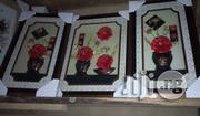 Wall Frame Set (Redflower) | Arts & Crafts for sale in Lagos State, Surulere