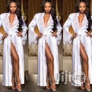 Erotic Underwear Ice Silk Long Skirt Bathrobe Nightdress | Clothing for sale in Lagos State, Ikeja