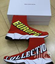 """Balenciaga Speed Trainer Sock """"Europe Collection"""" Men'S Sneakers Red 