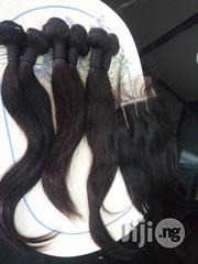 Peruvian Straight 16,14 12 Inches Plus 3 Part Closure | Hair Beauty for sale in Oyo State, Egbeda