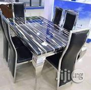 New Classy Turkey 6seater Marble Dining Table ,6chairs   Furniture for sale in Lagos State, Victoria Island