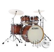 Tama Silverstar Custom 22'' 5pc Drum Kit, Antique Brown Burst | Musical Instruments & Gear for sale in Lagos State, Ikeja