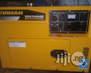 Firman DIESEL Silent Generator Sdg 7000se 6.5 Kva | Electrical Equipment for sale in Lagos State, Ojo