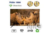 Mooka Haier Mooka 55-inch Smart LED UHD TV With A-class Screen - Black   TV & DVD Equipment for sale in Kano State, Kano Municipal