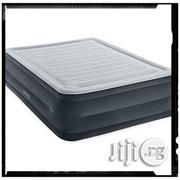 Intex Comfort Plush Elevated Dura-beam Airbed With Built-in Electric Pump | Home Accessories for sale in Lagos State, Lagos Mainland