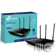 Tp-Link Ac1200 Wireless Dual Band Gigabit Router Archer C1200   Networking Products for sale in Lagos State, Ikeja