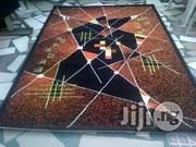 Brown And Orange Design Centre Rug 5 By 7   Home Accessories for sale in Lagos State, Lagos Mainland