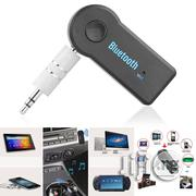Wireless Bluetooth 3.5mm AUX Audio Stereo Music Home Car Receiver Adapter Mic | Vehicle Parts & Accessories for sale in Lagos State, Ikorodu