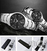 Nary 2 in 1 Stainless Steel Couples Wristwatch | Watches for sale in Delta State, Ugheli