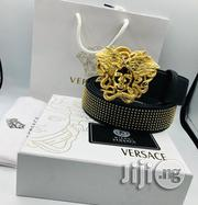 Versace Leather Belt   Clothing Accessories for sale in Lagos State, Lagos Island