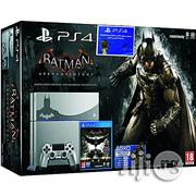 Playstation Ps4 500GB Steel Grey Console+ Batman Arkham Knight Limited Edition | Video Game Consoles for sale in Abuja (FCT) State, Maitama