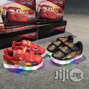 Macqueen Cars LED Sneakers With Charger | Children's Shoes for sale in Lagos State, Lagos Mainland