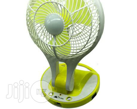 Rechargable Table Fan