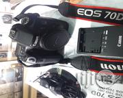 Canon EOS 70D DSLR Professional Video Camera | Photo & Video Cameras for sale in Lagos State, Ikeja