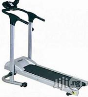 American Fitness Manual Treadmill With Heart Monitor + Free Water Bottle | Sports Equipment for sale in Abuja (FCT) State, Central Business District