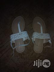 Uk Used White Sandal | Shoes for sale in Oyo State, Ido