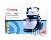 Master Chef Electric Hand Mixer With Rotating Bowl | Kitchen Appliances for sale in Lagos State, Ikorodu