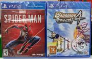 Ps4 Games- Spiderman/Warrior Orachi 4 | Video Games for sale in Lagos State, Ikeja