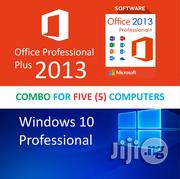 Windows 10 Professional + Office Professional Plus 2013 | Software for sale in Lagos State, Lagos Mainland