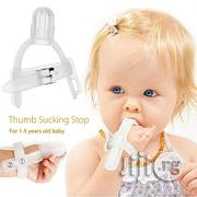Thumb Sucking Silicone Stop Finger Guard For 1-5 Years Baby Kids   Babies & Kids Accessories for sale in Lagos State, Ikeja