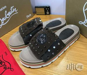 good quality promo codes available Christian Louboutin Men's Slippers in Lagos Island - Shoes, LARRY ...