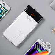 Romoss LT20 20000mah Dual Output and Triple Input LED Display Power Bank (White) | Accessories for Mobile Phones & Tablets for sale in Lagos State, Ikeja