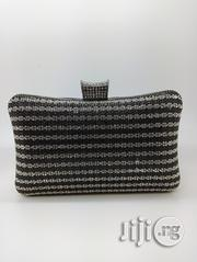 Sandy Black Rhinestone Clutch | Bags for sale in Lagos State, Ajah