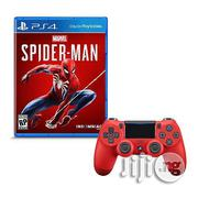 Ps4 Wireless Pad + Ps4 Spiderman Game | Video Games for sale in Lagos State, Ikeja