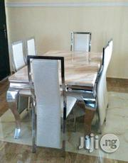 Strong Six Seater Marble Dining Table (New) | Furniture for sale in Lagos State, Ikotun/Igando