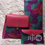 Ankara Bag With 6 Yards Wax and Purse Imported Here in Ikeja V | Bags for sale in Enugu State, Nsukka
