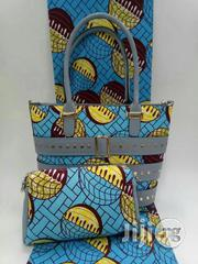 Imported African Pattern Ankara Bags With 6 Yards Wax Fabrics And Purse Iii | Bags for sale in Enugu State, Nsukka