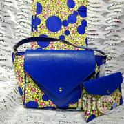 Ankara Bag With 6yards Fabrics and Purse Imported | Bags for sale in Enugu State, Nsukka