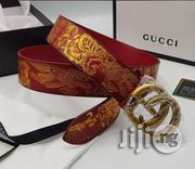 Original Gucci Leather Belt | Clothing Accessories for sale in Lagos State, Lagos Island