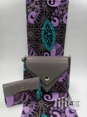 Gorgeous Ankara Bag With 6yards Wax and Purse Imported Xiv | Bags for sale in Ogun State, Ijebu Ode