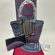 Gorgeous Ankara Bag With 6yards Wax And Purse Imported Xv | Bags for sale in Ogun State, Ijebu Ode
