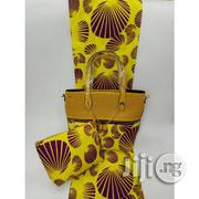 Exclusive Ankara Bags With 6yards Wax And Purse Imported Oxii | Bags for sale in Ogun State, Ijebu Ode