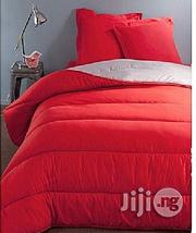 Luxe Linient Solution Spikkle Exquisite Reversible Quilted Bedsheet Duvet Set - Red | Home Accessories for sale in Lagos State, Apapa