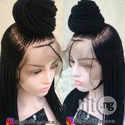 Braided Wig With Full Lace Human Hair   Hair Beauty for sale in Lagos State, Ikotun/Igando