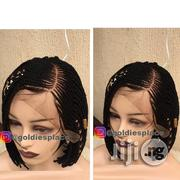 Short Braided Wig With Lace Frontals   Hair Beauty for sale in Lagos State, Ikotun/Igando