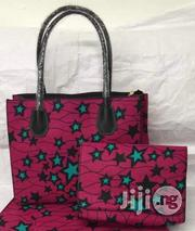 Well Designed Ankara Bags With 6yards Wax and Purse I | Bags for sale in Edo State, Benin City
