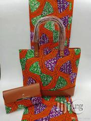 Imported Fabric Ankara Bags With 6yards Wax And Purse Iii | Bags for sale in Bayelsa State, Yenagoa