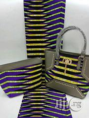 Imported Fabric Ankara Bags With 6yards Wax and Purse Vi   Bags for sale in Cross River State, Calabar