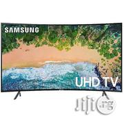 Samsung UHD 4k Curved Smart TV 55inchs | TV & DVD Equipment for sale in Lagos State, Lagos Mainland