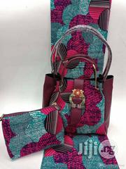 Imported Fabric Ankara Bags With 6yards Wax And Purse Vii   Bags for sale in Cross River State, Calabar