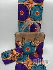 Imported Fabric Ankara Bags With 6yards Wax and Purse Viii   Bags for sale in Cross River State, Calabar