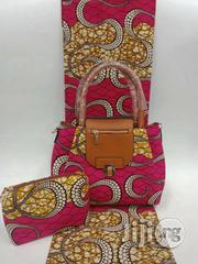 Imported Fabric Ankara Bags With 6yards Wax and Purse Ix   Bags for sale in Cross River State, Calabar
