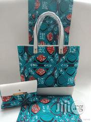 Imported Fabric Ankara Bags With 6yards Wax and Purse X   Bags for sale in Ebonyi State, Abakaliki